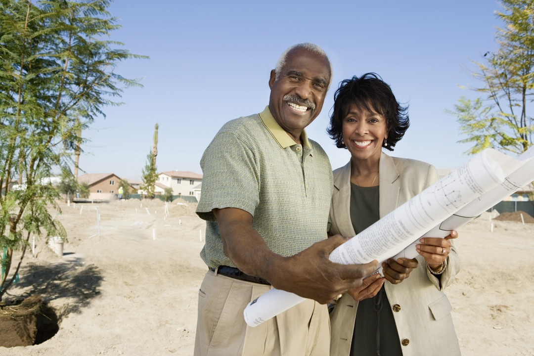 Build a home - elderly couple - TTTMF